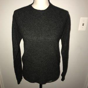 100% lambswool J. Crew crew neck sweater